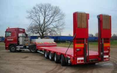 Перевозка негабаритных грузов низкорамными полуприцепами по РФ - Краснодар, заказать или взять в аренду