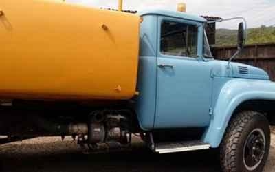 Привезем воду водовозом - Геленджик, цены, предложения специалистов