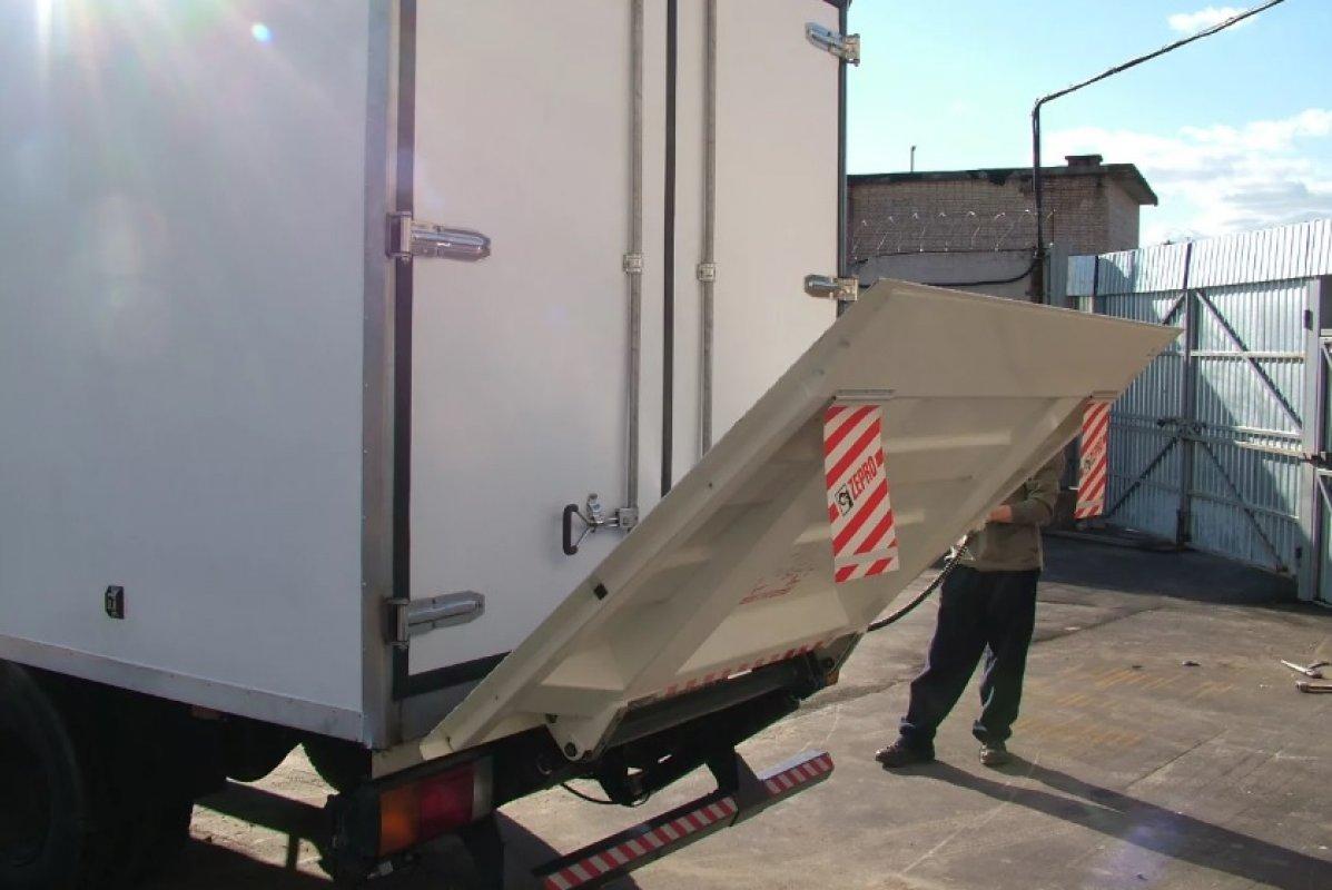 Грузоперевозки. Автомобиль ISUZU с гидробортом - Белореченск, заказать или взять в аренду